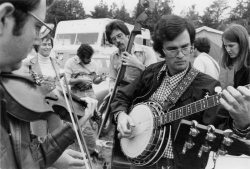 A bluegrass festival in TN, ~1976
