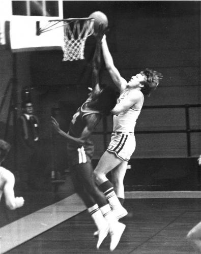 John Halloran, playing for Newberry College, 1975