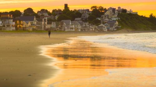 Hull Island sunset