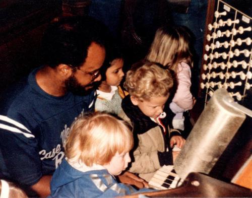 Ben Ward With Children 05